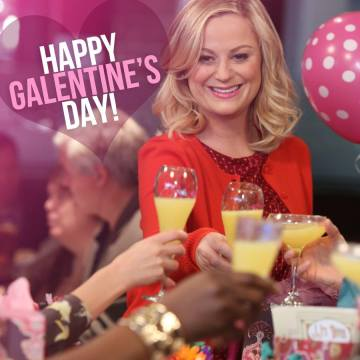 parks and recreation galentines day